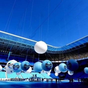 Inauguração da Arena Gremio