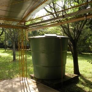 Reservatório de água da chuva