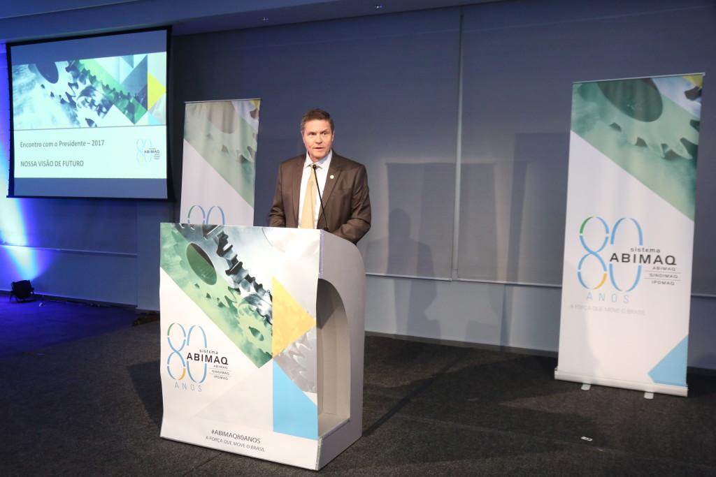 João Carlos Marchesan, Presidente do Conselho de Administração da ABIMAQ/SINDIMAQ.
