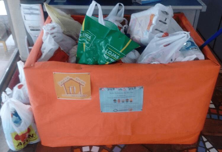 Doações arrecadadas na Transmaq